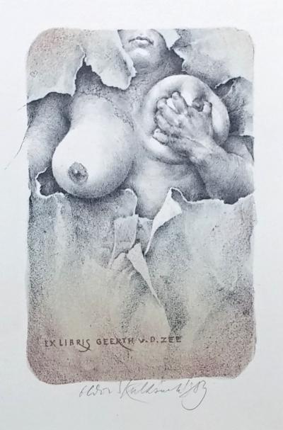 Kulhánek Oldřich (1940 - 2013) : Ex libris Geerth V. D. Zee