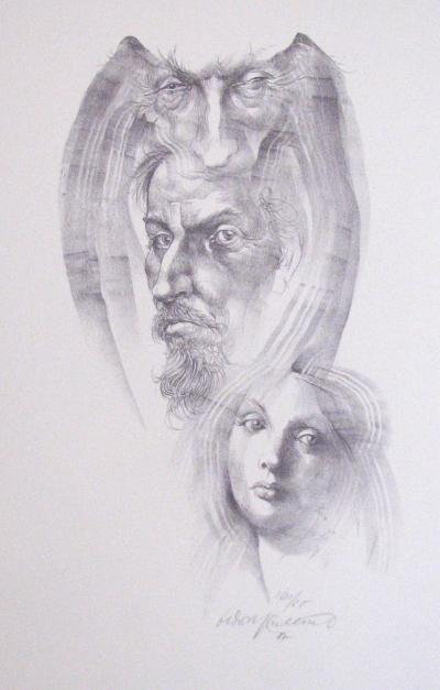 Kulhánek Oldřich (1940 - 2013) : Faust a Markéta