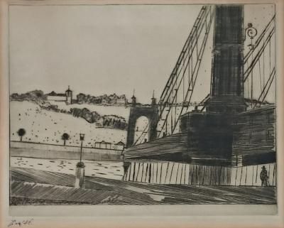 Tichý František (1896 - 1961) : Řetězový most