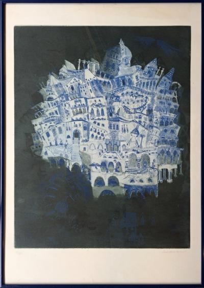 Sukdoláková Milada (1956) : Stromy, město I.