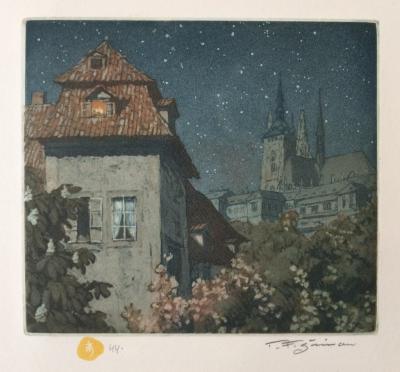 Šimon Tavík František (1877 - 1942) : Chrám sv. Víta