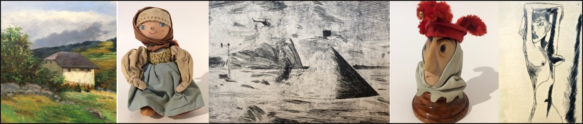 XII. Aukce obrazy, kresby, grafiky, loutky