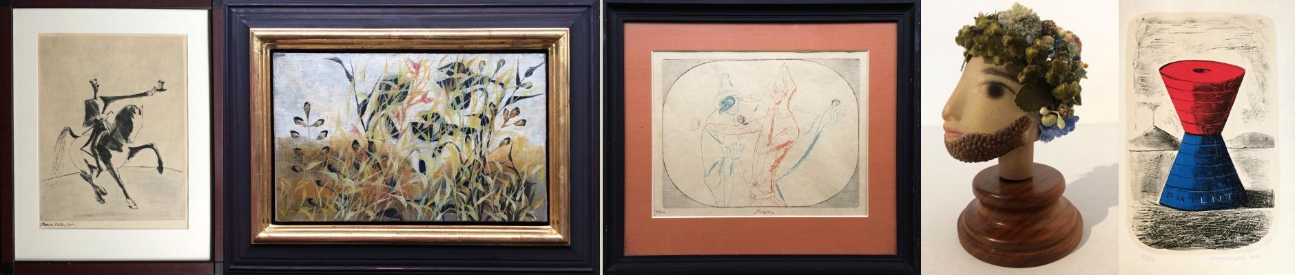 Výstava děl k XI. aukci Galerie Lazarská